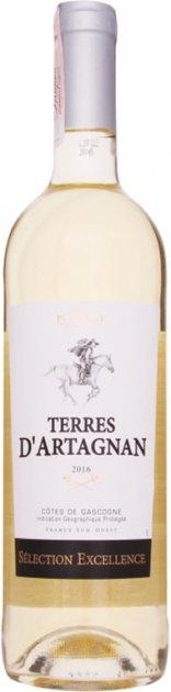 Вино Plaimont Terres d'Artagnan blanc біле сухе 0.75 л 10.5% (3270040310736) - зображення 1