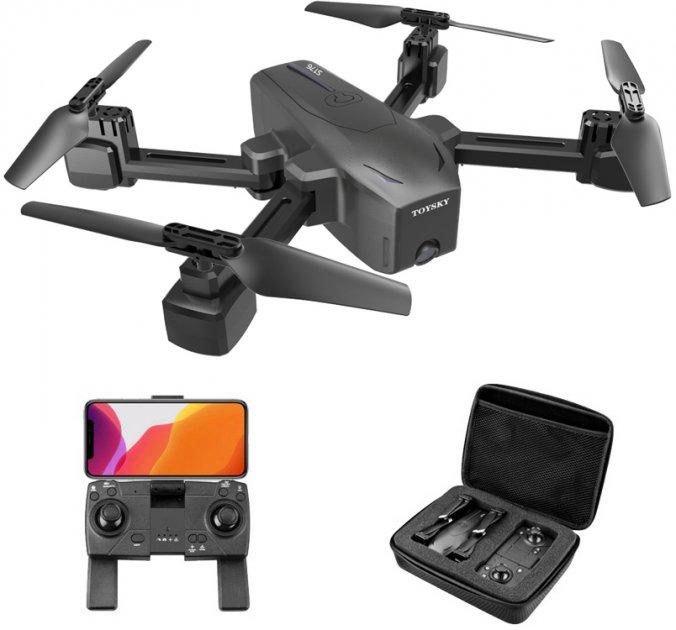 Квадрокоптер Toys-Sky S176 Black + кейс сумка (4820176245403) - изображение 1
