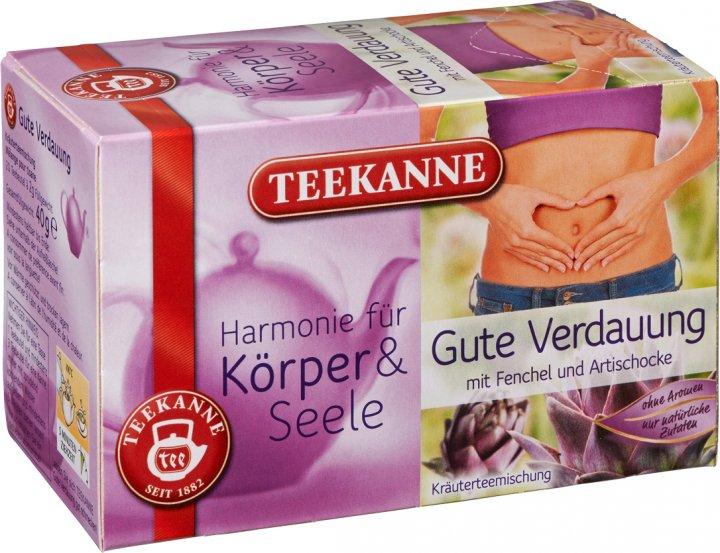 Чай травяной пакетированный Teekanne Гармония Легкое пищеварение 20 пакетиков (4009300012580) - изображение 1