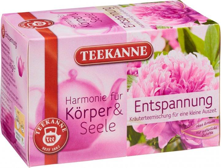 Чай травяной пакетированный Teekanne Гармония Релакс 20 пакетиков (4009300009467) - изображение 1