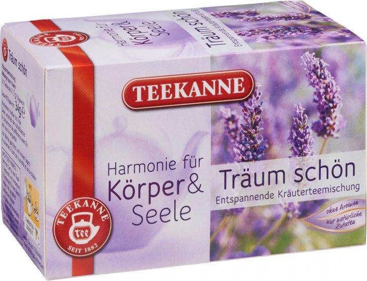 Чай травяной пакетированный Teekanne Гармония Спокойный сон 20 пакетиков (9001475049205) - изображение 1