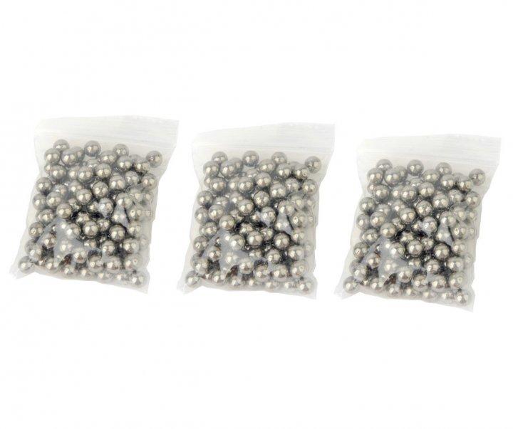 Металеві кульки для рогатки DEXT 8 мм сталь 3 упаковки (OK2215730989) - зображення 1