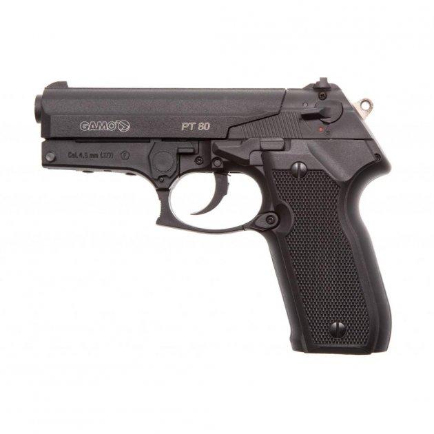 Пневматический пистолет Gamo PT-80 кал.4,5 (6111350) - изображение 1