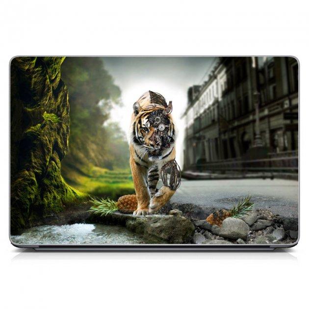 """Универсальная наклейка на ноутбук 15.6""""-13.3"""" 380х250 мм IdeaClock Other world Матовая - изображение 1"""