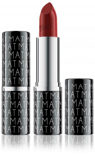 Помада для губ матовая Bell Velvet Mat Lipstick 05 True Red (BL10125) - изображение 1