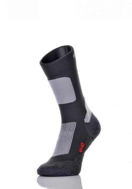 Носки трекинговые термоактивные SPAIO Trekking Spunfit 44-46 графит/серый - изображение 1