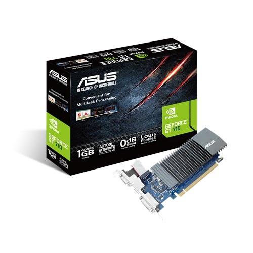 Видеокарта GF GT 710 1GB GDDR5 Asus (GT710-SL-1GD5) - изображение 1
