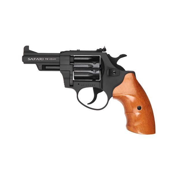 Револьвер під патрон Флобера Safari 431М Бук BLACK - зображення 1