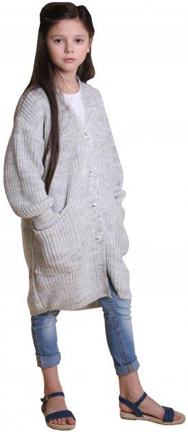 Кардиган TopHat 19006 140-146 см 38/40 р Серый (4820140620212) - изображение 1