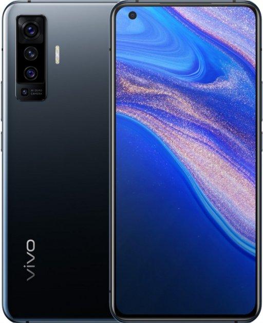Мобильный телефон Vivo X50 8/128 GB Glaze Black - изображение 1