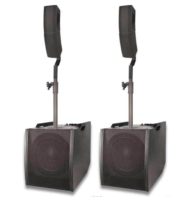 """Комплект звукового обладнання NGS COMBO 1222A 600Вт 12"""" + 8*4"""" - зображення 1"""