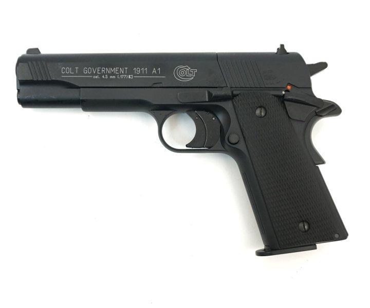Пистолет пневматический Umarex Colt Government 1911 A1 кал 4.5 мм (3986.02.16) - изображение 1