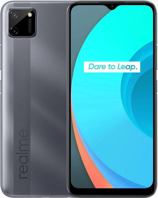 Мобильный телефон Realme C11 2/32GB Grey - изображение 1