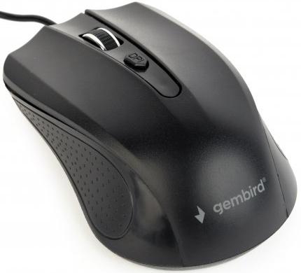 Миша Gembird MUS-4B-01 USB Black - зображення 1