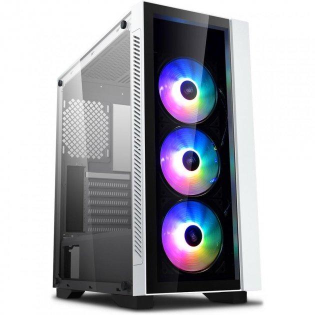 Корпус DeepCool Matrexx 55 V3 ADD-RGB WH 3F White, без БЖ (Matrexx 55 V3 ADD-RGB WH 3F) - зображення 1