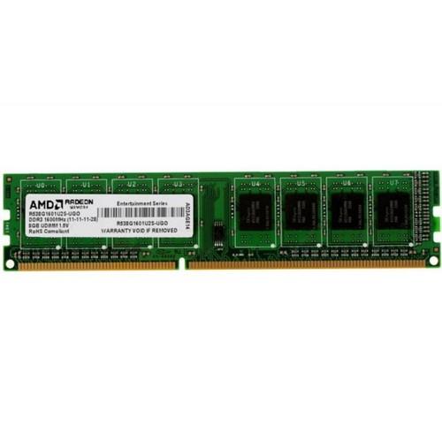 Модуль памяти AMD DDR3 1600 8GB, BULK R538G1601U2S-UOBULK - изображение 1
