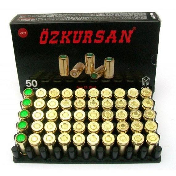 Патрон Ozkursan 9 мм. холостой - изображение 1