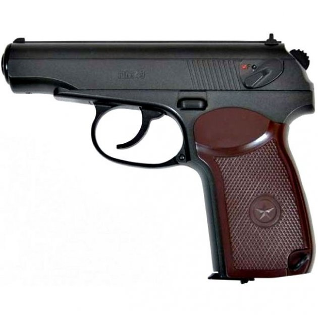 Пневматический пистолет BORNER PM 49 Makarov - изображение 1