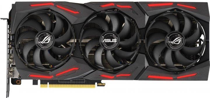 Asus PCI-Ex GeForce RTX 2060 ROG Strix Gaming EVO 6GB GDDR6 (192bit) (1365/14000) (2 x HDMI, 2 x DisplayPort) (ROG-STRIX-RTX2060-6G-EVO-GAMING) - зображення 1