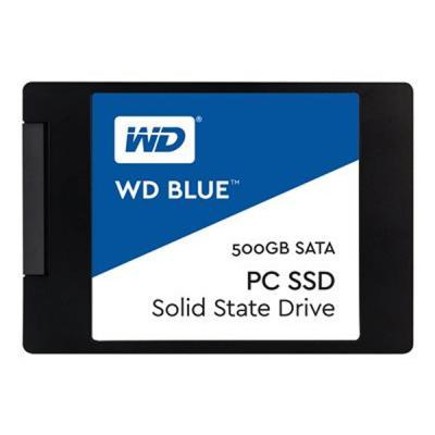 """Накопичувач SSD 2.5"""" 500GB Western Digital (WDS500G1B0A) - зображення 1"""