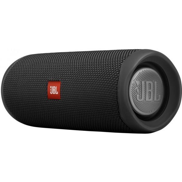 Портативна акустика JBL Flip 5 Black (JBLFLIP5BLK) - зображення 1