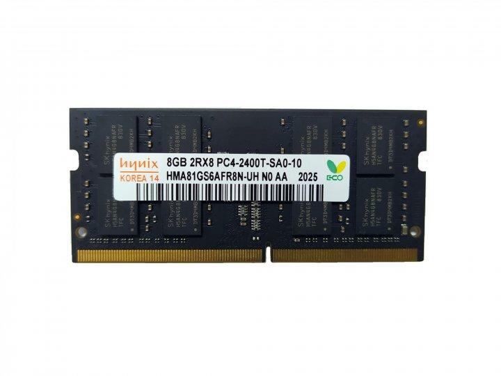 Оперативна пам'ять SK Hynix SODIMM DDR4 8GB 2400MHz (HMA81GS6AFR8N-UH) - зображення 1