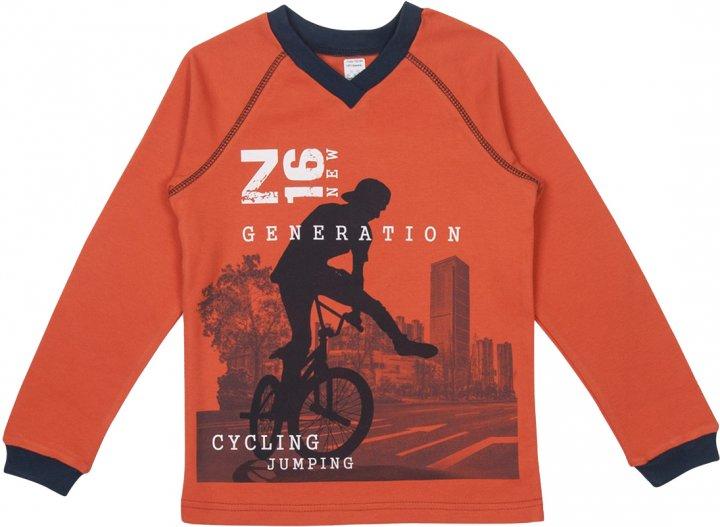 Пуловер Z16 3ІН108-3 (2-365) 140 см Оранжевый (31010832365140) - изображение 1