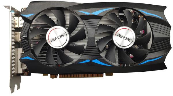 AFOX PCI-Ex GeForce GTX 1050 Ti 4GB GDDR5 (128bit) (1392/7008) (DVI, HDMI, DisplayPort) (AF1050TI-4096D5H5) - зображення 1