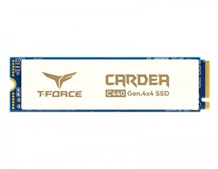 Накопитель SSD 1TB Team Cardea Ceramic C440 M.2 2280 PCIe NVMe 4.0 x4 3D TLC (TM8FPA001T0C410) - изображение 1
