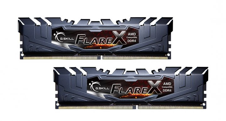 Модуль пам'яті DDR4 2x8GB/3200 G. Skill Flare X (F4-3200C16D-16GFX) - зображення 1