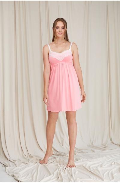 Нічна сорочка Dianora L Рожевий 2069 1362 - зображення 1