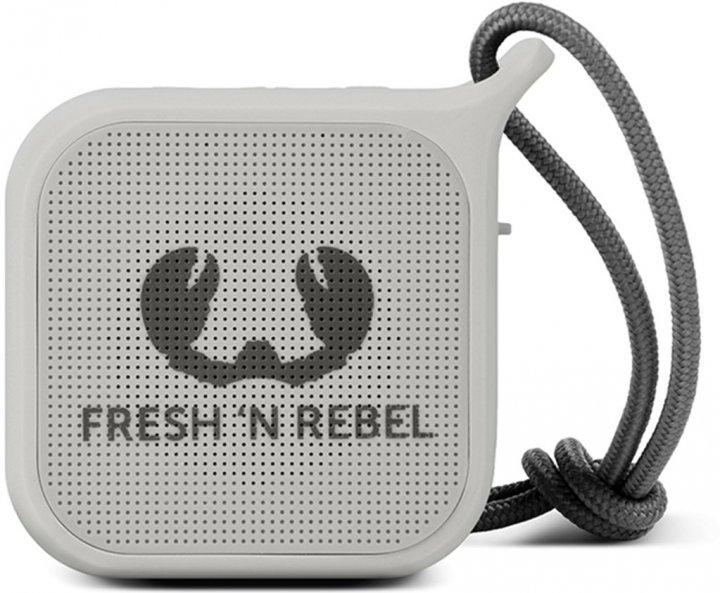 Акустична система Fresh 'N Rebel Rockbox Pebble Small Bluetooth Speaker Cloud (1RB0500CL) - зображення 1