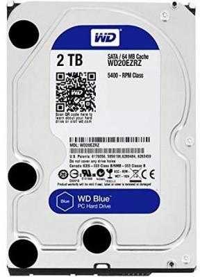 """Жорсткий диск (HDD) Western Digital 3.5"""" 2TB (#WD20EZRZ-FR#) - зображення 1"""