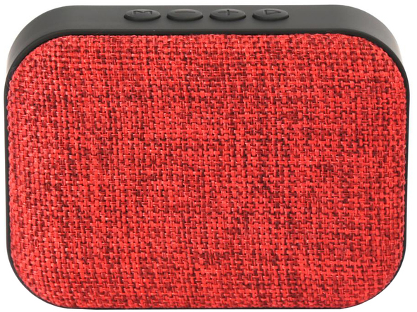 Акустическая система IT/sp Omega Bluetooth OG58DG Fabric Red (OG58R) - изображение 1