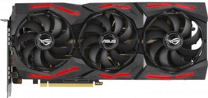 Asus PCI-Ex GeForce RTX 2060 Super ROG Strix 8G Gaming EVO V2 OC Edition 8GB GDDR6 (256bit) (1470/14000) (2 x DisplayPort, 2 x HDMI) (ROG-STRIX-RTX2060S-O8G-EVO-V2-GAMING) - зображення 1