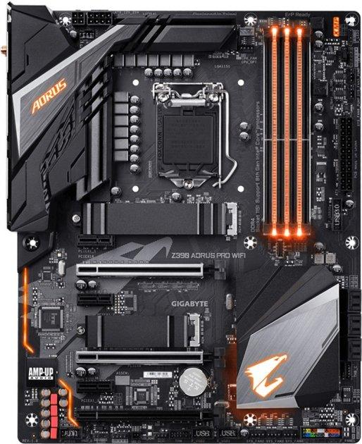 Материнская плата Gigabyte Z390 Aorus Pro WIFI (s1151, Intel Z390, PCI-Ex16) - изображение 1