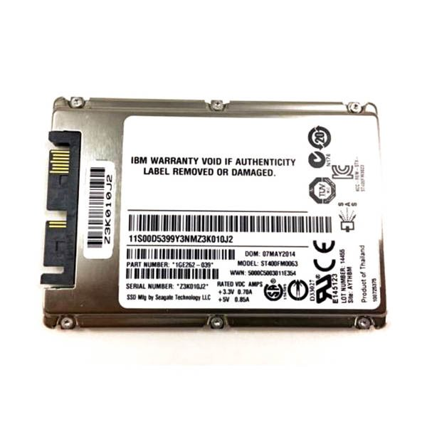 SSD IBM 50GB SATA 1.8 in MLC SSD (43W7726) Refurbished - зображення 1