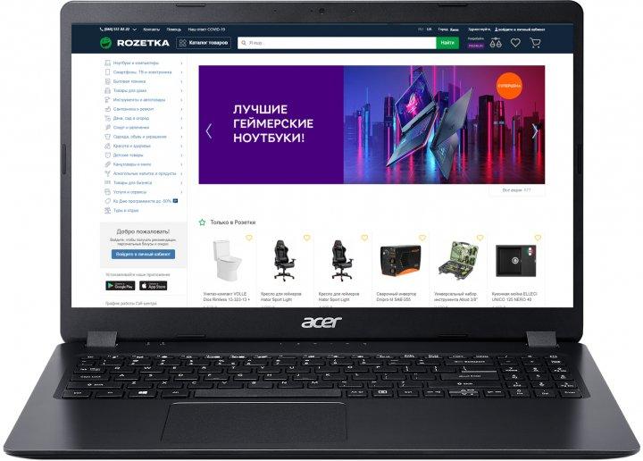 Ноутбук Acer Aspire 3 A315-56-58AE (NX.HS5EU.00Z) Shale Black - зображення 1