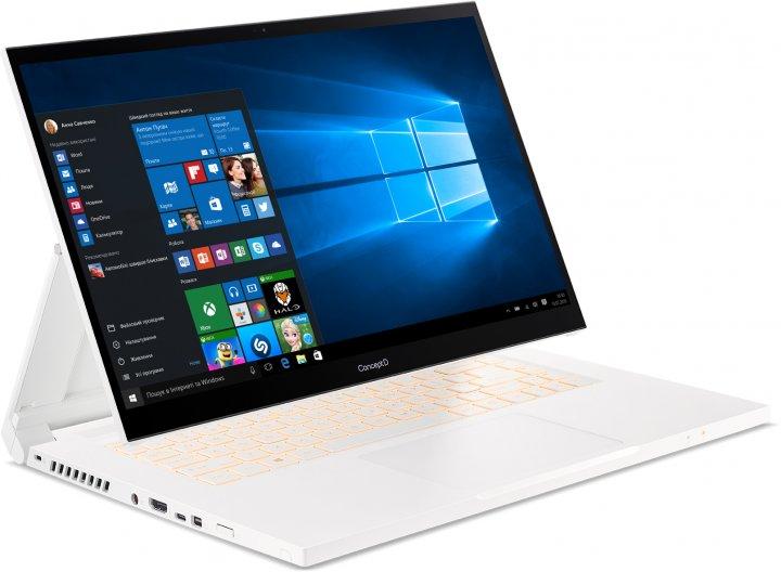 Ноутбук Acer ConceptD 3 Ezel CC315-72G-76DK (NX.C5NEU.007) White - зображення 1
