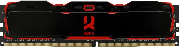 Оперативная память Goodram DDR4-3000 16384MB PC4-24000 IRDM X Black (IR-X3000D464L16/16G) - изображение 1