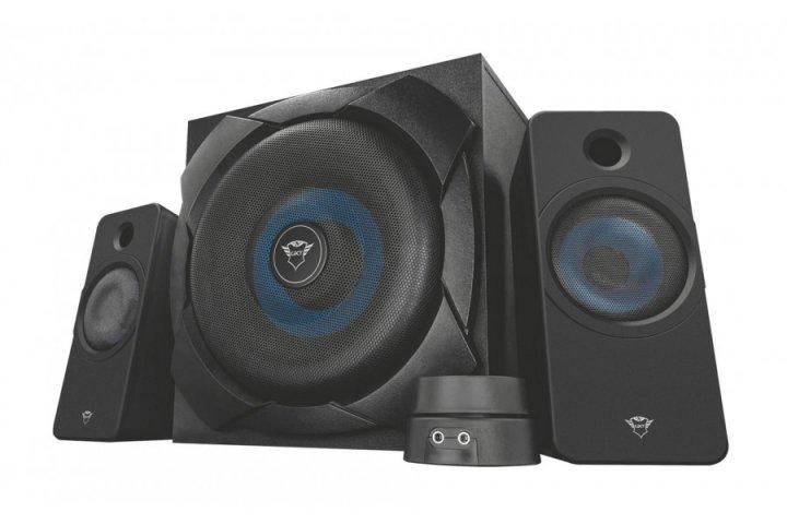 Акустическая система Trust GXT 648 Zelos 2.1 Gaming Speaker Set(22196) - изображение 1