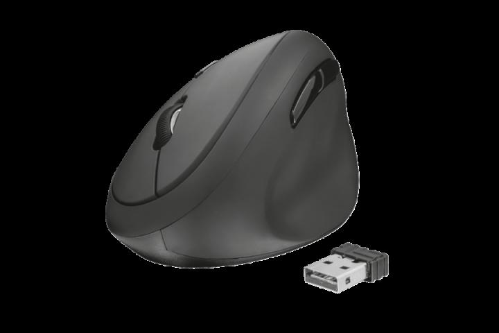 Эргономичная мышь Trust Orbo Wireless Ergonomic Mouse(23002) - изображение 1
