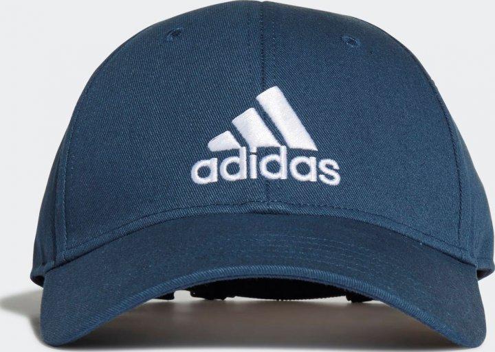 Кепка Adidas Bball Cap Cot GM6273 XXL Crenav/White (4064044191168) - зображення 1