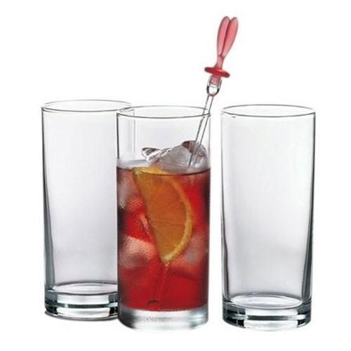 Набор стаканов высоких Pasabahce Istanbul 12 штук 290мл d6,2 см h13,4 см стекло (42402/12) - изображение 1