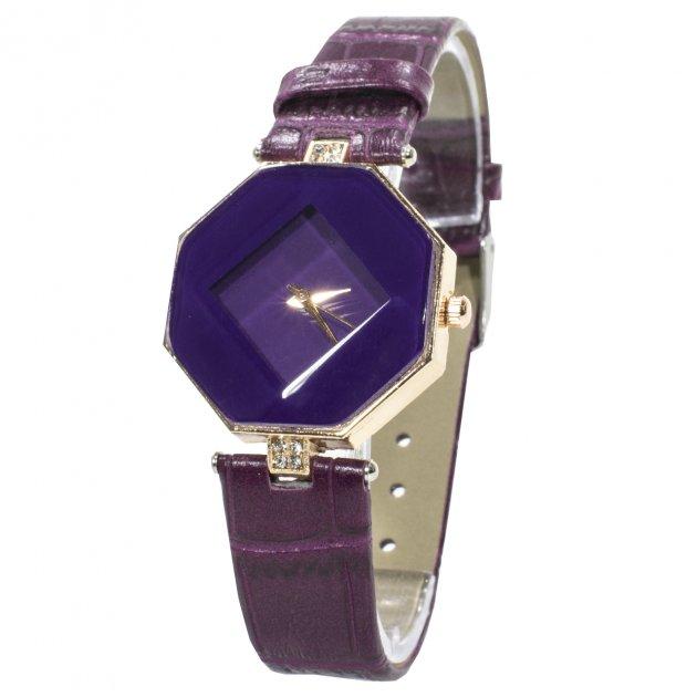 Женские часы Rowng Геометрия Purple - изображение 1