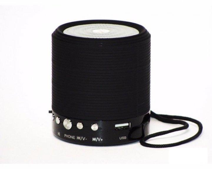 Портативна MP3 Bluetooth колонка WSTER SPS WS-631, радіо чорна - зображення 1