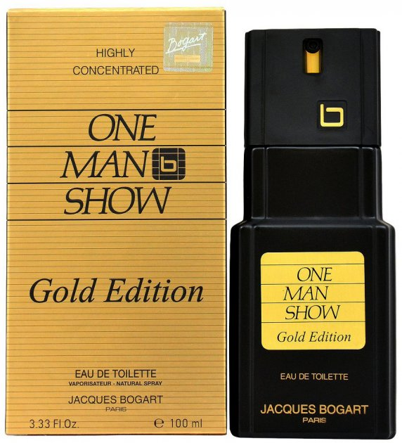 Туалетная вода для мужчин Jacques Bogart One Man Show Gold Edition 100 мл (3355991003408) - изображение 1