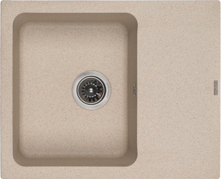 Кухонна мийка GRANADO Avila New Terra (gn0503) + сифон одинарний - зображення 1