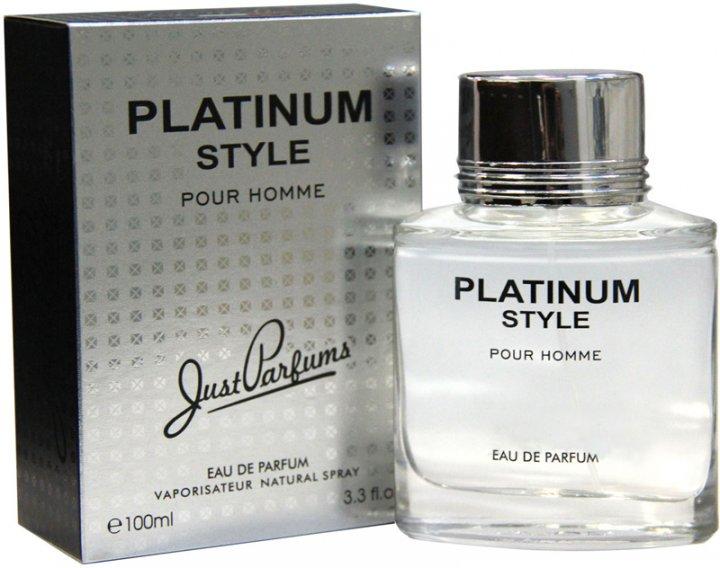 Туалетная вода для мужчин Just Parfums Platinum Style Pour Homme 100 мл (8907202001892) - изображение 1