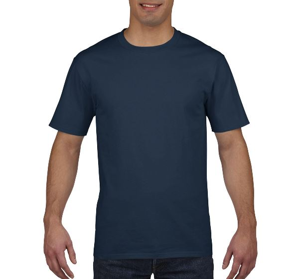 Футболка Gildan Premium Cotton 4100-533C XXL Тёмно-синяя - изображение 1